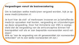 Vergoeding medicijnen